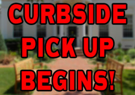 Starting Curbside Pick-up!