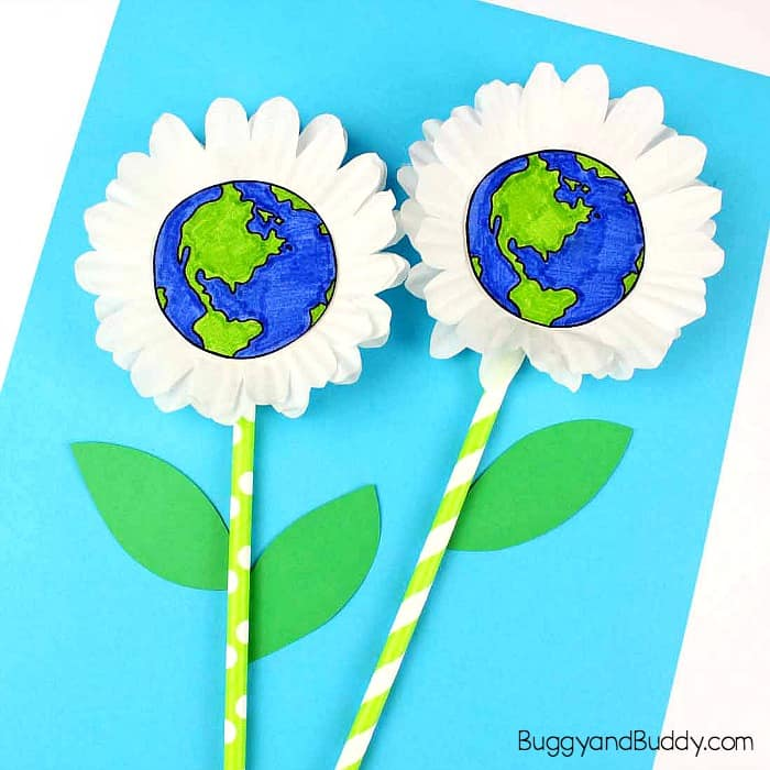 Take-Home Craft of the Week- Earth Flowers
