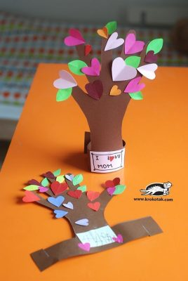 Take-Home Craft of the Week: Flowering Tree