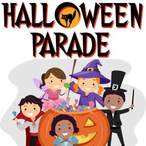 Halloween Parade in Constitution Park with Erin - FULL