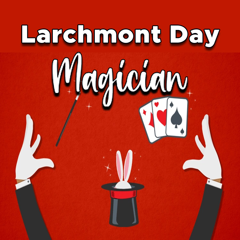 Larchmont DayMagicianon Library Lawn
