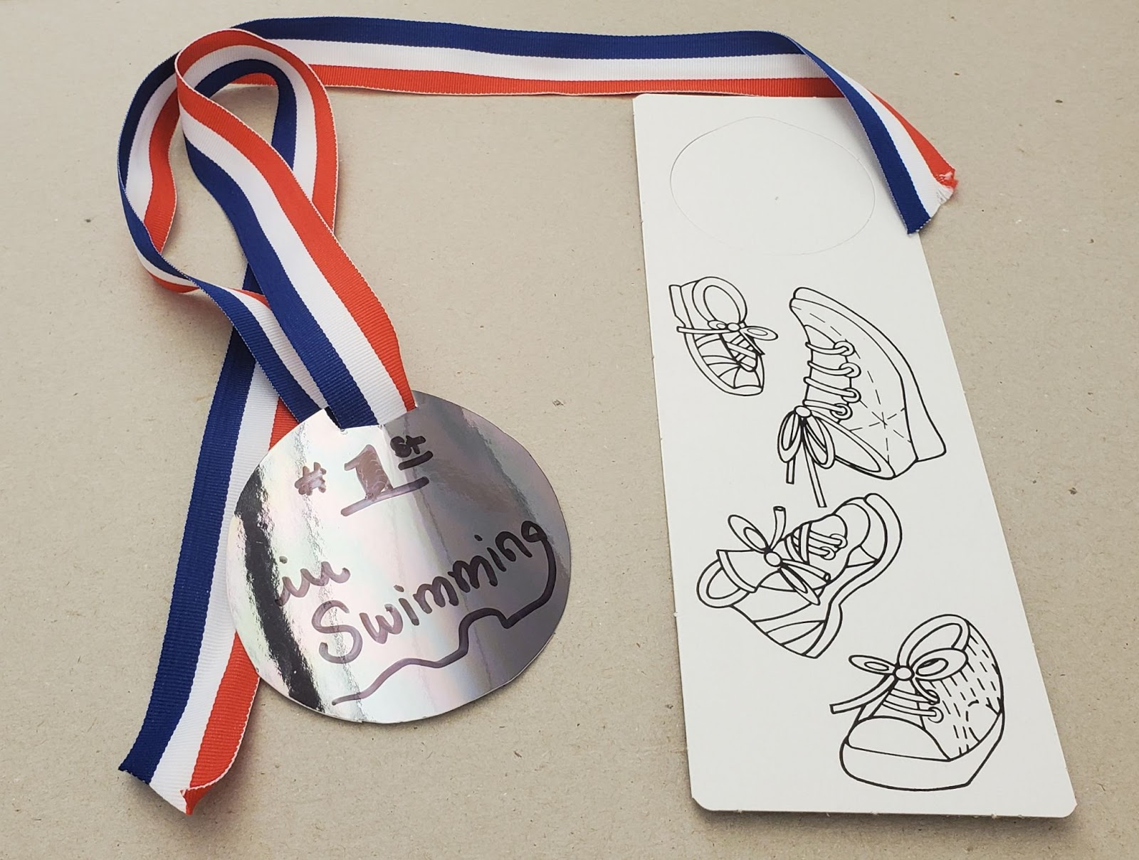Take-Home Craft of the Week: Olympic Medals