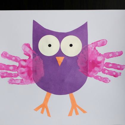 Take-Home Craft of the Week-Owl Craft