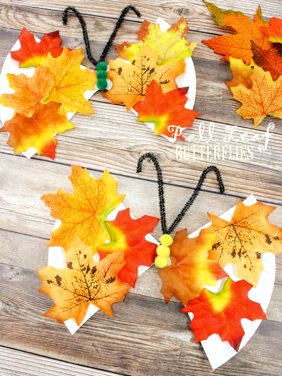 Take-Home Craft of the Week-Fall Butterfly