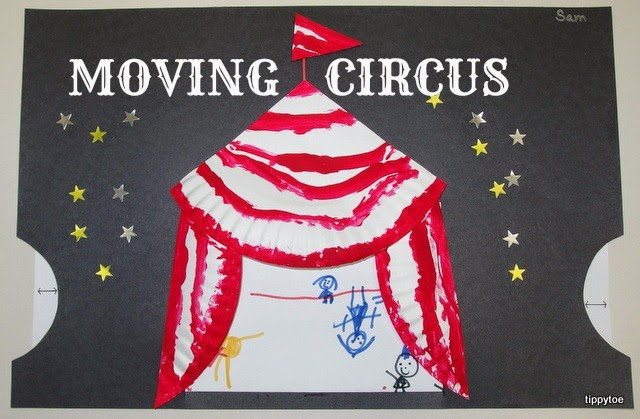 Take-Home Craft of the Week-Moving Circus