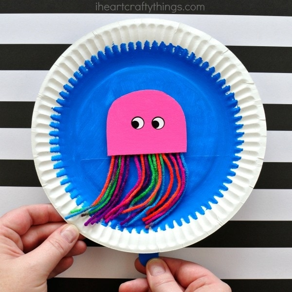 Take-Home Craft of the Week- Swimming Jellyfish