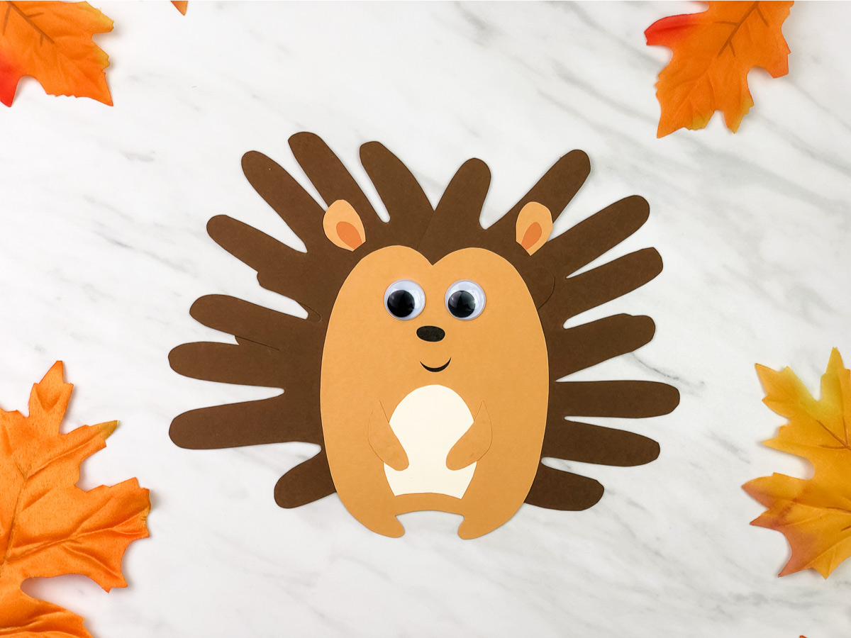 Take-Home Craft of the Week- Handprint Hedgehog