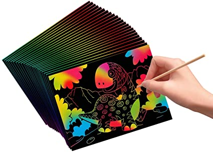 Take Home Craft of the Week: Scratch Art