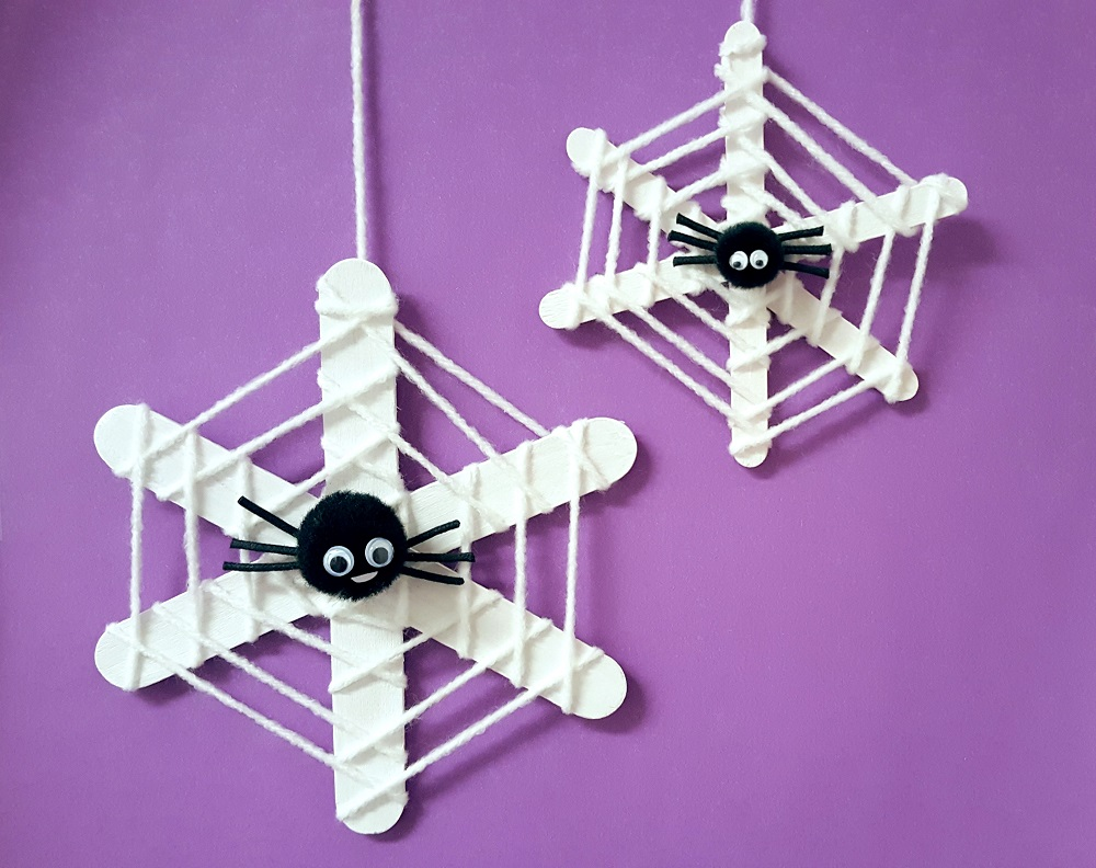 Take Home Craft of the Week: Spooky Spider
