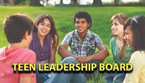 Teen Leadership Board info session