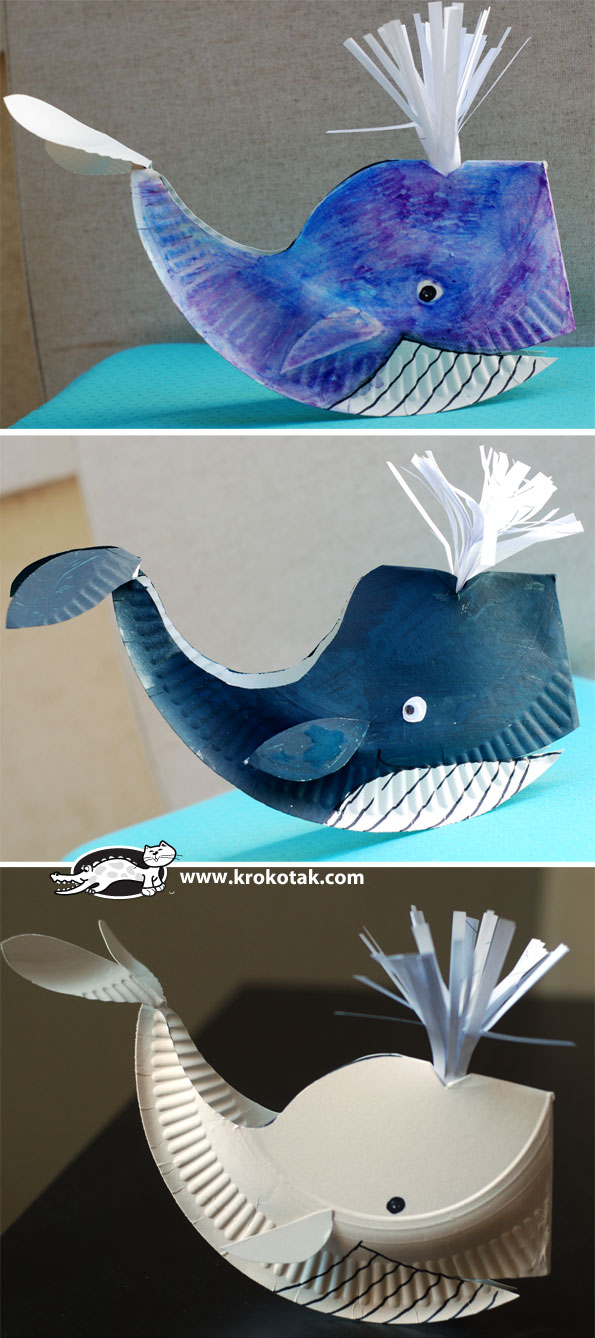 Take-Home Craft of the Week: Whale Craft